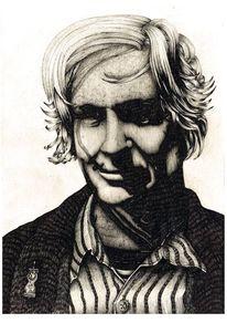 Wikileaks, Portrait, Assange, Zeichnungen