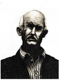 Weiß, Portrait, Papandreou, Menschen