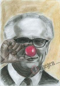Honecker, Zeichnungen
