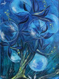 Traum, Malerei, Pflanzen