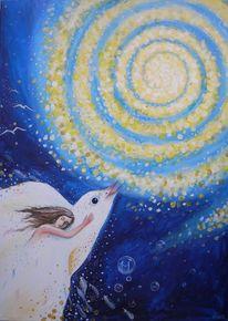 Himmel, Seele, Vogel, Ewigkeit