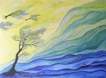 Baum, Malerei, Pflanzen, Unterwegs