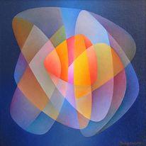 Ölmalerei, Abstrakt, Malerei, Erwartung