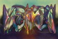 Abstrakt, Digitale kunst, Digital, Schicksal