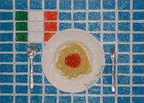 Italien, Bella italia, Maccheroni napoli, Abdruck