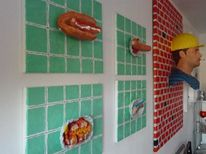 Currywurst, Bratwurst, Hotdog, Eat of art