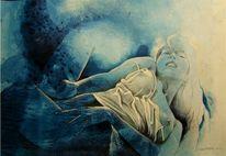 Erotik, Akt, Zeichnung, Malerei