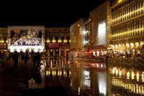 Architektur, Markusplatz, Nachtaufnahme, Fotografie