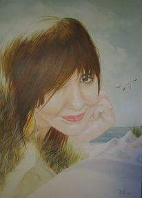 Portrait, Malerei, Nordlicht