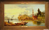 Seide, Gemälde, Istanbul, Malerei