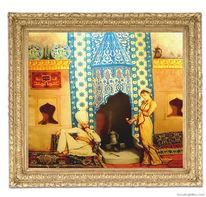 Osmanische bilder, Malerei