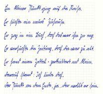 Schrift, Sütterlin, Gedicht, Tinte