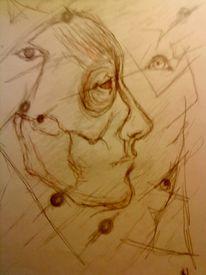 Skizze, Grafik, Abstrakt, Zeichnungen