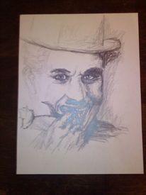 Zeichnung, Graphit stift, Portrait, Grafik