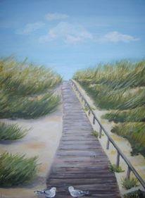 Ostfriesland, Landschaft, Langeoog, Strand