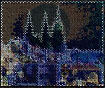 2011, Ölmalerei, Hradschin, Pixelbender