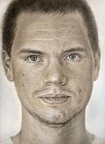 Portrait, Portraitzeichnung, Zeichnungen