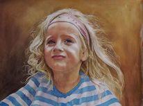 Mädchen, Kinderportrait, Kind, Odenwald