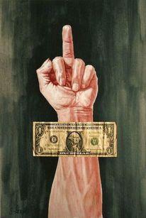 Ägypten, Kapitalfaschisten, Google, Hand