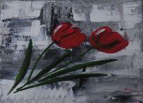 Frühjahr, Tulpen, Klassisch, Blumen
