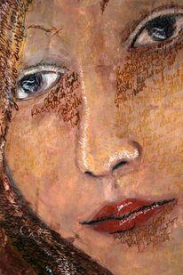 Italien, Frau, Ölmalerei, Malerei