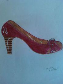 Schuhe, Malerei