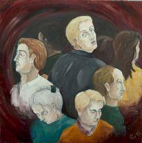 Menschen, Figur, Malerei, Realismus