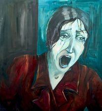 Realismus, Malerei, Modern, Portrait