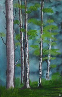 Stimmung, Mystik, Idylle, Wald