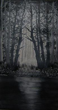 Wald, Licht, Sonnenlicht, Mystik