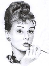 Zeichnungen, Hepburn