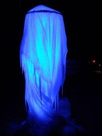 Eisskulptur, Eis, Installation, Skulptur