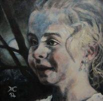 Clair obscur, Gegenlicht, Portrait, Mondgöttin