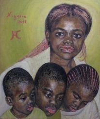 2011, Nigeria, Malerei,