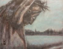 Corpus, Landschaft, Abend, Malerei