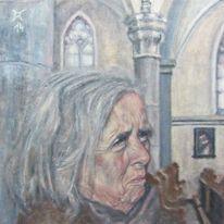 Schatten, Portrait, Zweifel, Frau
