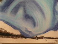 Malerei, Polarlicht