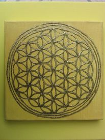 Universelles muster, Molekül, Geometrie, Förderung von ordnung