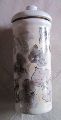 Malen, Vase, Keramik, Efeu