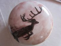 Handbemalte keramik, Zeller adventzaubermarkt, Dose, Energie