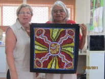 Generationstory, Dotpainting, Australien, Alice springs