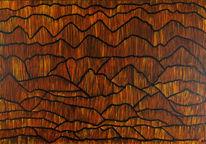 Wüste, Muster, Holz, Schnitt