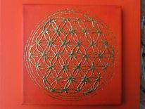 Uraltsymbol, Geometrie, Torusfeld, Indien