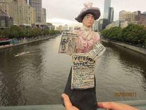 Treffen, Yarra river, Brücke, Votes