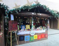 Kugel, Adventzaubermarkt, Blume des lebens, Glockerl