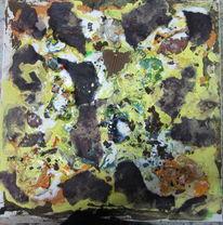 Farben, Binder, Pigmente, Tisch