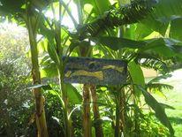 Banane, Insel, Grün, Natur