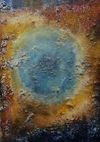 Hubble, Universum, Augenblick, Ölmalerei