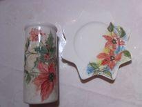 Liebevolles kunsthandwerk, Vase, Zeller adventzaubermarkt, Sternteller