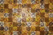 Circle of life, Abstrakt, Malerei,